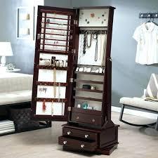 floor length mirror cabinet full length mirror with jewelry storage ivanlovatt com