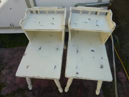 shabby chic end tables at curiosities outdated u2013 updated aj u0027s