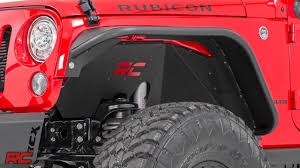 jeep country logo 2007 2017 jeep wrangler inner fender liners by rough country youtube