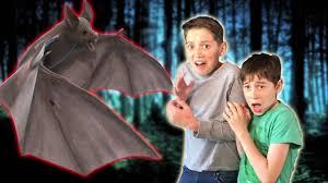 halloween kids movie scary vampire bat attacks horror skit