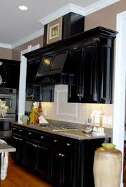 Black Kitchen Cabinets Images 195 Best Things To Try To Make My Ugly Cabinets Pretty Images On