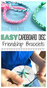 make friendship bracelet patterns images Easy friendship bracelets with cardboard loom red ted art 39 s blog jpg