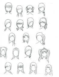 anime hairstyles drawings anime hairstyles drawings