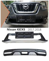 nissan kicks 2017 auto bumper guard for nissan kicks 2017 2018 bumper plate high
