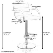 bar stools extra tall bar stools under 100 standard bar counter