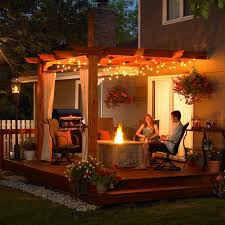 Patio 26 Cheap Patio Makeover by Outdoor Patio Ideas With Wooden Cover And Modern Lighting Designs