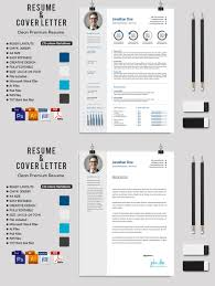 creative resume templates for microsoft word creative ms word resume cv letterhead and invoices with extended 2