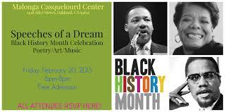 speeches of a black history celebration rsvp malonga