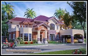 wonderful looking mediterranean house design in the philippines 7