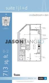 eaton centre floor plan aura 386 388 yonge toronto condos lofts