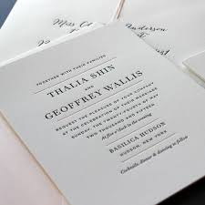 wedding invitations new york sesame letterpress invitations ny weddingwire