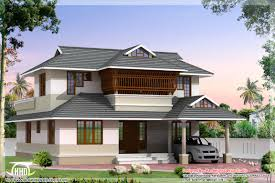 kerala style villa architecture 2200 sq ft house design plans
