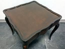 wellington hall end table wellington hall solid mahogany french country accent end l table