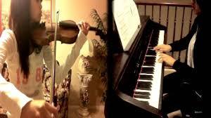 vampire knight suna no oshiro violin piano cover youtube