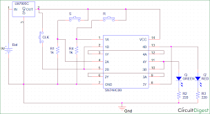 Truth Table Calculator Sr Flip Flop Circuit Diagram With Nand Gates Working U0026 Truth