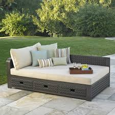 Outdoor Furniture Daybed Del Sol Daybed Mission Hills Furniture
