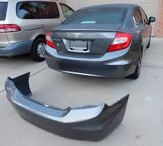 honda civic rear 2012 honda civic painted rear bumper revemoto com