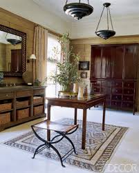 Cindy Crawford Michael Smith Bathroom Design Renovation Ethnic - Designer bathrooms by michael