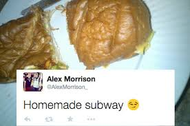 Subway Sandwich Meme - a whole lot of people think sandwiches are called homemade subway
