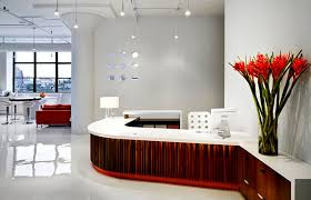 Home Design Studio Brooklyn Reception Desk Commercial Office Interior Design Um Project