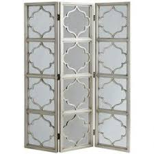 room divider with mirror foter