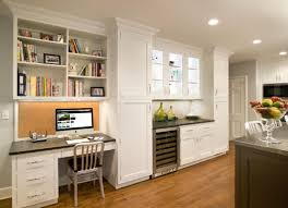 kitchen cabinet desk ideas colors for bedroom glass computer desk kitchen cabinet