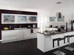 Black Kitchen Designs Photos Kitchen Black White Gas Range Hood Oven Kitchen Island Ceiling