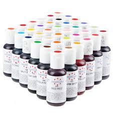 Aliexpress Com Buy 20pcs America Edible Cream Baking Pigment