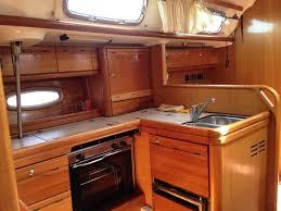 Boat Galley Kitchen Designs Skippered Boat Charter Ibiza Bavaria 50