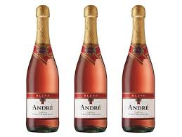 drinking the bottom shelf andré blush california pink champagne