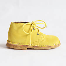 yellow boots s shoes bisgaard desert boot yellow mini me kid shoes