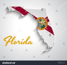 Map Of Florida State by Map Florida Abstract Vector Paper Map Stock Vector 566539108