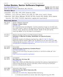 Senior Net Developer Resume Sample Software Examples For Resume Resume Example And Free Resume Maker
