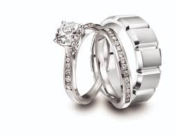 engagement rings and wedding band sets ring and wedding band set for him and jeff cooper diamond and