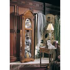 howard miller clarksburg curio grandfather clock walmart com