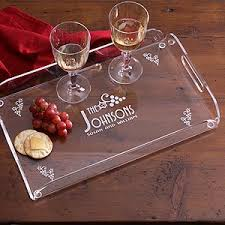 personalized serving tray personalized hostess serving tray gift four seasons design