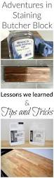 adventures in staining butcher block what worked what didn t adventures in staining butcher block what worked what didn t and lessons learned
