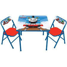 Thomas The Tank Activity Table And 2 Chairs Set Walmart Com