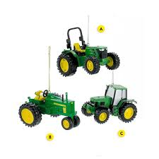 deere tractor ornament callisters