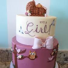 baby girl shower cake owl baby shower cakes for a girl diabetesmang info