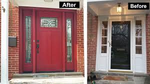 fiber glass door provia signet craftsman style 85