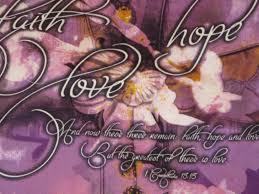 Christian Home Decor Wall Art Faith Hope Love Prayer Quilt Christian Gift Christian Wall