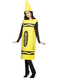 Crayon Halloween Costume Crayola Crayon Yellow Fancydress