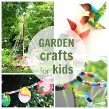 Craft Ideas For The Garden Garden Crafts For Plus Other Nature Arts And Crafts Ideas