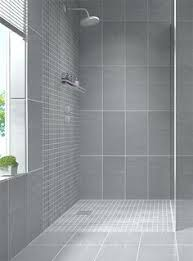 Modern Gray Tile Bathroom Sleek Gray Vertical Stacked Wall Tile Daltile Showscape 12x24