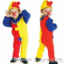Halloween Mascot Costumes Lovely Clown Children Mascot Costume Kids Christmas Children