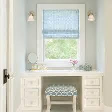 Blue Vanity Table White Custom Makeup Vanity Design Ideas
