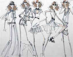 proporción femenina fashion illustration pinterest