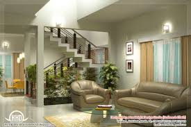 interior of home architecture beautiful living room rendering kerala house design