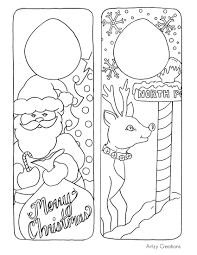 free coloring page christmas